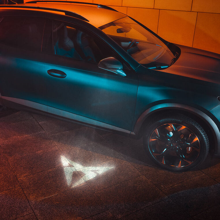CUPRA Formentor mit Welcome Light